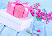 Boxes for presents and flowers — Foto Stock