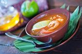 Tom yam çorbası — Stok fotoğraf