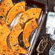 Pumpkin pieces with aroma spice — Stock Photo #75636959