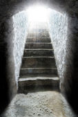 Light at the end of the tunnel — Stock Photo