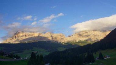 Dolomites mountains — Stock Video