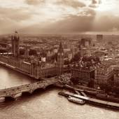 Westminster rooftop view — Stockfoto