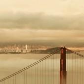 Golden Gate Brücke — Stockfoto