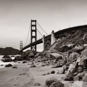 мост золотые ворота — Стоковое фото