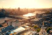 London city rooftop — Stock Photo