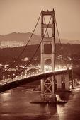 χρυσή γέφυρα πυλών — Φωτογραφία Αρχείου
