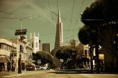 San Francisco street view — Stock Photo