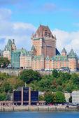 Quebec City skyline — Stock Photo