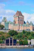 Quebec City skyline — Стоковое фото