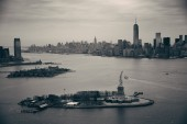 Manhattan aerial — Foto Stock