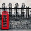 London Telephone box — Stock Photo #63064577