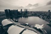 Singapore sunset — Stock Photo