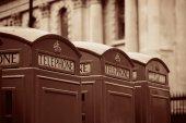 London Telephone box — Stock Photo