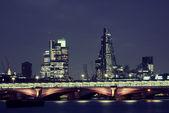 London over river — Zdjęcie stockowe