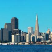 旧金山的天际线 — 图库照片