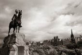 The Royal Scots Greys Monument — Stock Photo