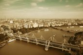 London Aerial View — Stock Photo