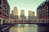 London Canary Wharf — Stock Photo