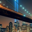 New York City night — Stock Photo #79743882