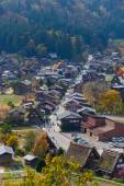 Historic Village of Shirakawa-go in autumn — Stock Photo