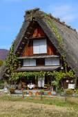 Historic Village of Shirakawa-go in autumn — Foto de Stock