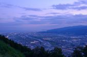 Landscape in the twilight at Seisho region, Kanagawa, Japan — Stock Photo