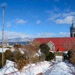Orthodox Church of Hakodate in Hokkaido — Stock Photo #61711677