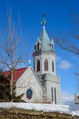 Motomachi Catholic Church in Hakodate, Hokkaido — Stock Photo