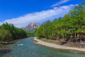 Kamikochi in Nagano, Japan — Stock Photo
