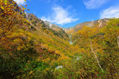 Landscape of Northern Japan Alps — Foto Stock