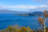 Autumn in the Lake Towada — Stock Photo