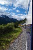 Alaskan Railway — Stock Photo