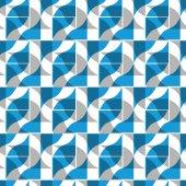 Ornate tiles seamless pattern, geometric vector background. — Vector de stock