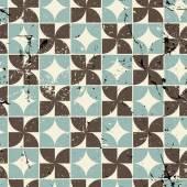 Vintage bright geometric seamless pattern, vector abstract spott — Stock Vector
