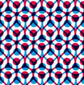 Abstract geometric background, seamless pattern, vector backgrou — Stockvektor