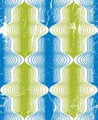 Vintage style seamless pattern, vector geometric lines repeating — Cтоковый вектор
