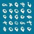 Abstract creative icons vector collection, abstract business des — Stockvector  #55769093