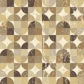 Vintage squared seamless pattern, vector rhombic abstract backgr — Stockvektor