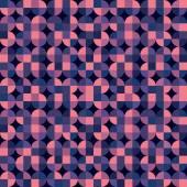 Vector quatrefoil colorful geometric background, purple floral a — Stock Vector