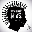 Where is my mind ? — Stock Vector #57821563