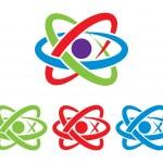 Atom symbol. Vector. — Stock Vector #57829165