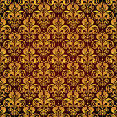 Damask seamless floral pattern. — Stock Vector