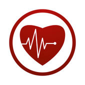 Cardiology icon. — Stock Vector