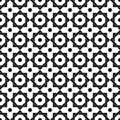 Vintage star shaped tiles seamless pattern. — Stock Vector