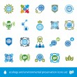 Ecology and environmental conservation vector icons set, unusual — Stock Vector #57837715