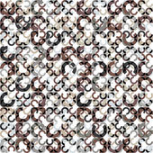 Circles seamless pattern. — Stock Vector