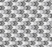 Monochrome arrows seamless pattern. — Stock Vector