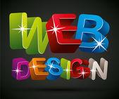 Web design. — Stock Vector
