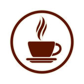 Coffee cup icon. — Stock Vector