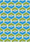 Colorful endless vector striped texture, motif abstract contempo — Stock Vector
